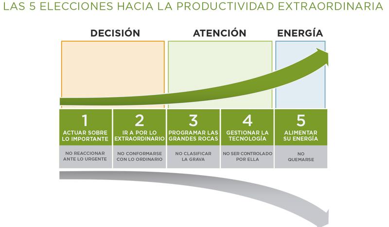 Las 5 Elecciones hacia la Productividad Extraordinaria-Curso